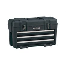 Waterloo PP-2314BK 3-Dwr Plastic Portable Chest - Black