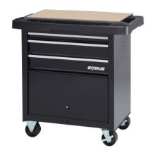 Waterloo SP-PC5BK-P 5-Drawer Project Centerw/Power - Black