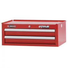 "Waterloo WIN-262RD 26"" 2-Drawer Intermediate - Red"