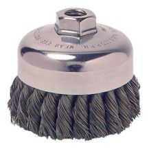 """Weiler 36044 4"""" Knot Cup Brush (5 EA)"""