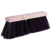 "Weiler 42033 16"" Street Broom W/Synthetic Fill"