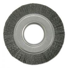 "Weiler 86120 6"" Burr-Rx Crimped Filament .055/80 Cg Composite"