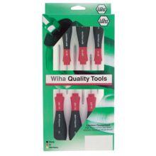 Wiha Tools 36291 6-Pc. Torx Screwdriver Set Softfinish