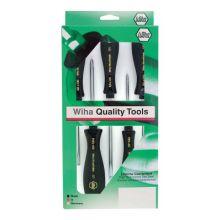 Wiha Tools 52090 5Pc Microfinish Slotted/Phillips Set Wiha