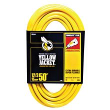 Woods Wire 2884 50' 12/3 Yellowjacket Ext.Cord