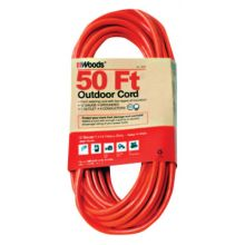 Woods Wire 528 12/3 25' Outdr Ext Cord