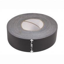 "AbilityOne 7510000744961 SKILCRAFT Waterproof Tape - ""The Original"" 100 MPH Tape - 2"" x 60 yds, Black - 2"" Width x 60 yd LengthCloth Backing - Black"