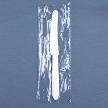 AbilityOne 7340013798840 SKILCRAFT Plastic Flatware Type III - Heavy-Duty - Knife - 1000/Box - Plastic - White