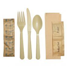 AbilityOne 7360015093586 SKILCRAFT Cutlery Set - 25/Bag - Plastic, Polypropylene