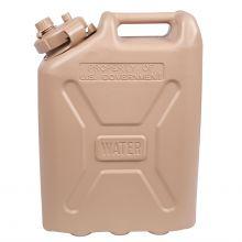 AbilityOne 7240000893827 SKILCRAFT Water Can, Desert Tan - 5 gal - 5 gal