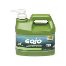 AbilityOne 8520016471707 SKILCRAFT GOJO EcoPreferred Pumice Hand Cleaner - Lime Scent - 1 gal (3.8 L) - Dirt Remover, Grease Remover, Soil Remover - Hand - Gray - Heavy Duty, Bio-based - 6 / Box