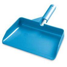 "AbilityOne 7290006160109 SKILCRAFT Short Handle Dust Pan - 3.5"" - Plastic - Blue"