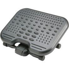 "AbilityOne 7195015909071 SKILCRAFT SoleMassage Ergonomic Footrest - 6.50"" Adjustment - Tilt - 17"" x 13"" x 6.5"" - Graphite"