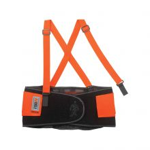 Proflex 100Hv Economy Hi-Vis Back Support M Orange (1 Each)