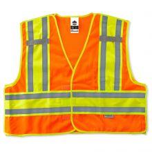 Glowear 8245Psv Type P Class 2 Public Safety Vest 2XL/3XL Orange (1 Each)