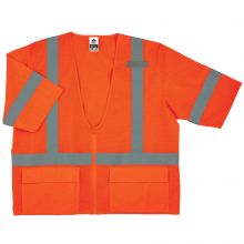 Glowear 8320Z Type R Class 3 Standard Vest 4XL/5XL Orange (1 Each)