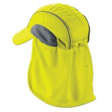 Chill-Its 6650 High Performance Hat W/ Neck Shade Lime (1 Each)