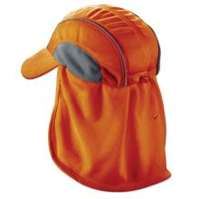 Chill-Its 6650 High Performance Hat W/ Neck Shade Orange (1 Each)