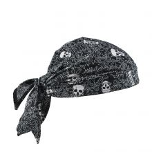 Chill-Its 6710Ct Evap. Cooling Triangle Hat W/Ct Skulls (1 Each)