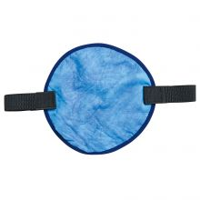 Chill-Its 6715Ct Evaporative Hard Hat Pad W/ Cooling Towel Blue (1 Each)