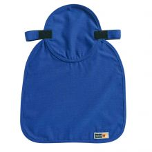 Chill-Its 6717Fr Evap. Fr Hard Hat Neck Shade W/ Polymers Blue (1 Each)