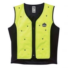 Chill-Its 6685 Dry Evaporative Cooling Vest XL Lime (1 Each)