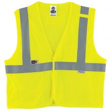 Glowear 8260Frhl Type R Class 2 Fr Modacrylic Vest 2XL/3XL Lime (1 Each)