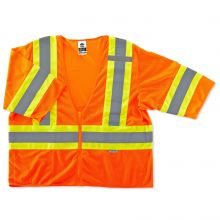 Glowear 8330Z Type R Class 3 Two-Tone Vest S/M Orange (1 Each)