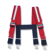 Arsenal Gb5093 Quick Adjust Suspenders-Reflective M Red (1 Each)