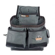 Arsenal 5522 16-Pocket Tool Pouch-Synthetic Gray (1 Each)