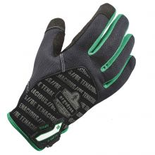 Proflex 812Tx Utility + Touch Gloves S Black (1 Pair)