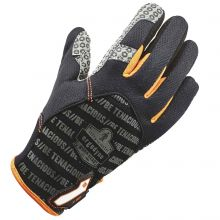 Proflex 821 Smooth Surface Handling Gloves L Black (1 Pair)