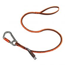 Squids 3108F(X) Tool Lanyard Single Locking Carabiner - 15Lbs Standard Orange (1 Each)