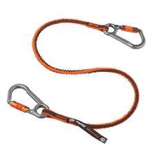 Squids 3118F(X) Tool Lanyard Dual Locking Carabiner - 15Lbs Standard Orange (1 Each)