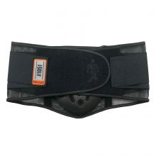 Proflex 1051 Mesh Back Support W/Lumbar Pad L Black (1 Each)