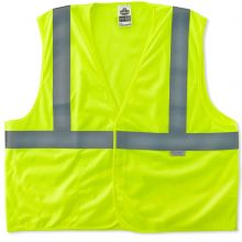 Glowear 8255Hl Type R Class 2 Treated Poly Vest S/M Lime (1 Each)