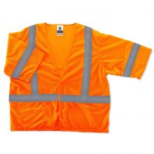 Glowear 8310Hl Type R Class 3 Economy Vest 4XL/5XL Orange (1 Each)