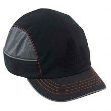 Skullerz 8950 Bump Cap Short Brim Black (1 Each)