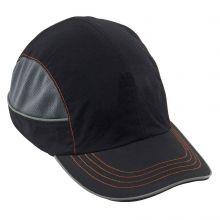 Skullerz 8950 Bump Cap Long Brim Black (1 Each)