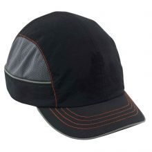 Skullerz 8950Xl Xl Bump Cap Short Brim Black (1 Each)
