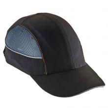Skullerz 8960 Bump Cap W/ Led Lighting Technology Long Brim Black (1 Each)