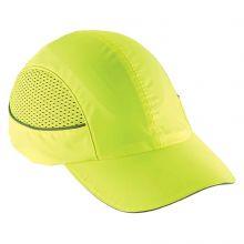 Skullerz 8960 Bump Cap W/ Led Lighting Technology Long Brim Lime (1 Each)