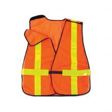 Glowear 8080Bax Non-Certified X-Back Vest Orange (1 Each)