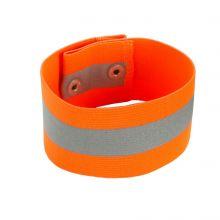 Glowear 8001 Arm/Leg Band - Button Snap Closure S/M Orange (1 Each)