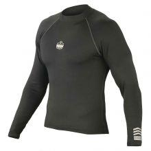 N-Ferno 6435 Thermal Base Layer Long Sleeve Shirt M Black (1 Each)