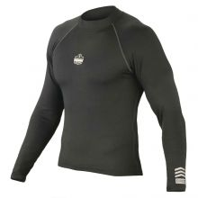 N-Ferno 6435 Thermal Base Layer Long Sleeve Shirt L Black (1 Each)