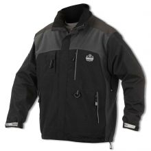 N-Ferno 6465  Outer Layer Thermal Weight Jacket 3XL Black (1 Each)
