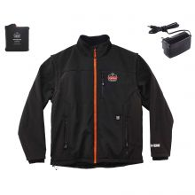 N-Ferno 6490 Outer Layer Heated Jacket 3XL Black (1 Each)