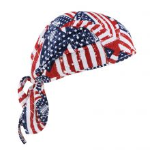 Chill-Its 6615 High-Performance Dew Rag Stars & Stripes (1 Each)