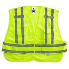 Glowear 8244Psv Type P Class 2 Expandable Public Safety Vest M/L Lime (1 Each)